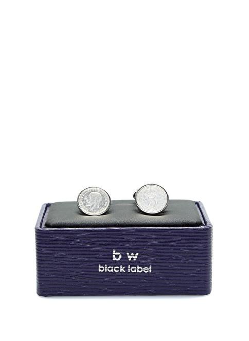 Babette Wasserman Kol Düğmesi Gümüş